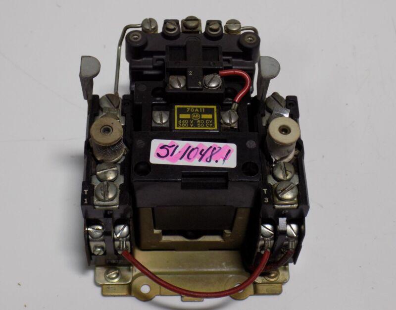 ALLEN BRADLEY MAGNETIC MOTOR STARTER  70A11