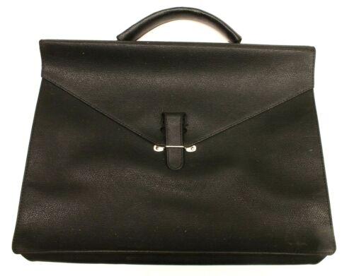 "CARRY CASE 10X14"" black Faux Leather"