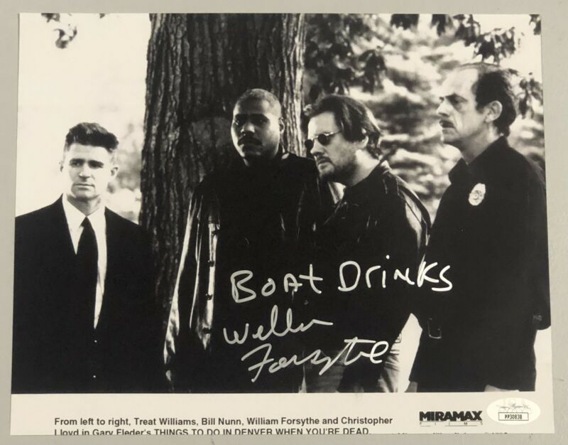 William Forsythe Signed Photo Things To Do In Denver When You're Dead JSA COA