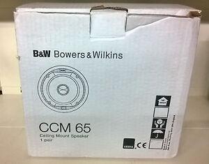 B-amp-W-CCM65-COPPIA-DIFFUSORI-DA-INCASSO-DA-130watt-NUOVA