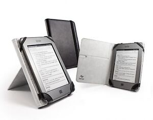 Tuff-Luv 'Book-Stand' case cover for Amazon Kindle Touch / Paperwhite - Black
