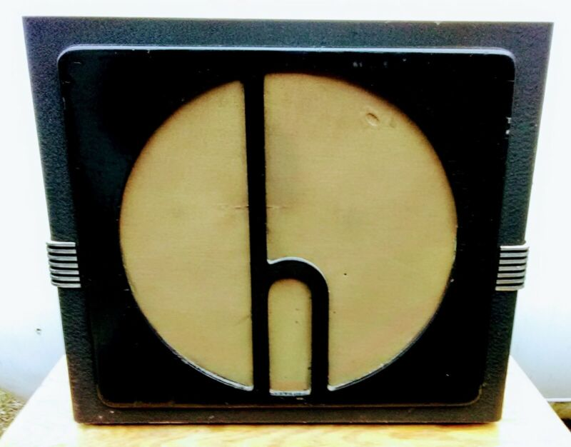 R-12-T HALLICRAFTERS SPEAKER in Cabinet with 5K Ohm Transformer SX-16+17+18, etc