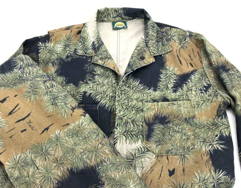 Men's Cabela's Konifer Camo Hunting Coveralls Sz XL Jumpsuit