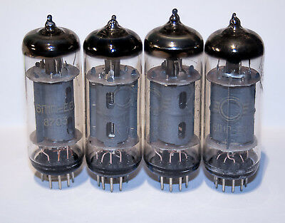 6P1P Svetlana   tubes 12 pcs. very strong usd/nos mix