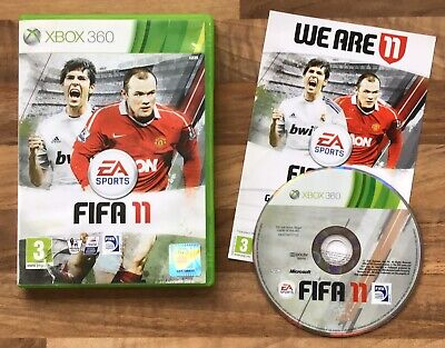 FIFA 11 XBOX 360 Game (Soccer) FEDERATION OF INTERNATIONAL FOOTBALL ASSOCIATION for sale  Shipping to Nigeria