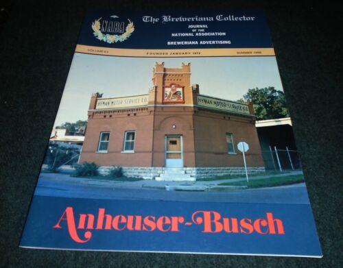 Beer History Book- Anheuser Busch, Griesedieck Brewery, Budwesier Beer, St Louis
