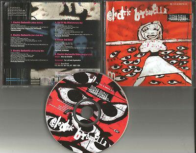 DURAN DURAN Electric barbarella 3 RARE MIXES & UNRELASED & VIDEO USA CD single