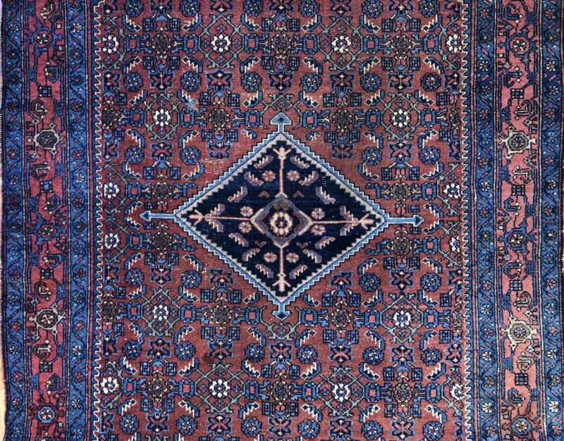 Tremendous Tribal - 1900s Antique Oriental Rug - Nomadic Carpet - 4.9 X 6.4 Ft.