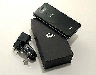 LG G6 VS988 - 32GB - Platinum / Black - Android Smartphone for Verizon Wireless!