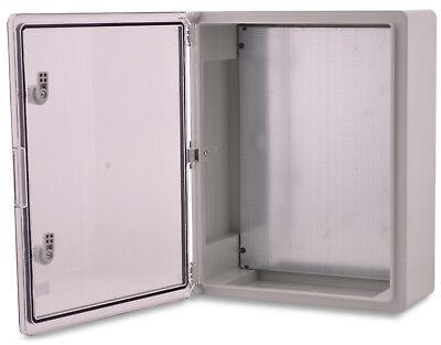 Serie 65 Wand (BOXEXPERT Wandschrank-Gehäuse Serie Fleet 500x400x175mm IP 65 transparent grau)