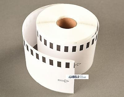 3 Rolls Dk-2205 Brother Ql Label Printer Compatible Postage Continuous Feed