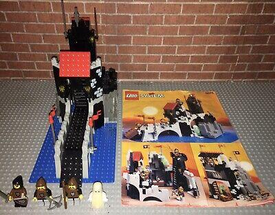 Lego 6075 Castle Wolfpack Tower Set Manual Vintage