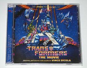 TRANSFORMERS THE MOVIE CD ORIGINAL 80's CARTOON SOUNDTRACK SEALED NEW INTRADA