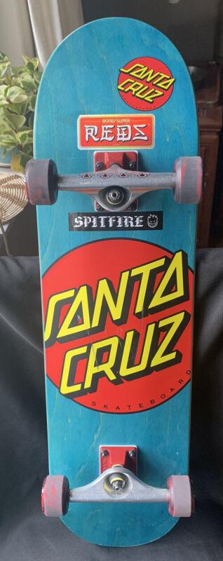 Santa Cruz Dot Skateboard Complete