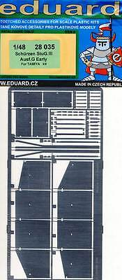 eduard - Schürzen StuG.III Ausf.G Früh early Ätzteile 1:48 Tamiya Modell-Bausatz