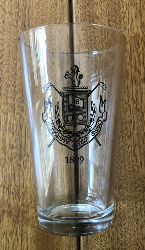 DETROIT GOLF CLUB Drinking Glass