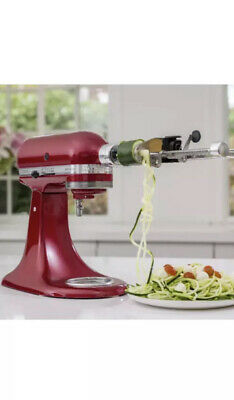 New!!! KitchenAid 7 Blade Spiralizer Plus with Peel, Core and Slice, KSM2APC