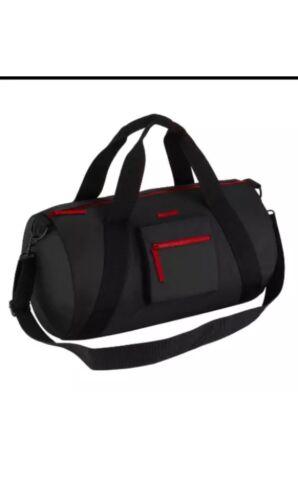 Givenchy Mens Black Duffle HandBag Gym Bag Weekender Travel Overnight