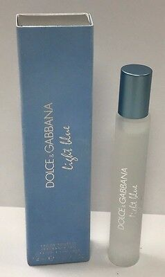 Dolce Gabbana Light Blue Rollerball Roll-On Women's 0.25 Oz New In Box No -