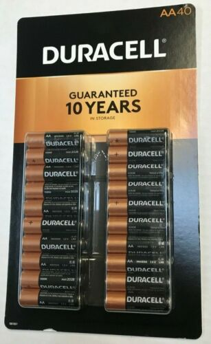 10 AA Duracell Alkaline 1.5V Exp. 12/2028 (Packaging May Vary)