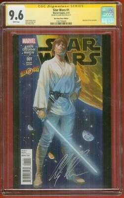 Star Wars 1 Cgc 9 6 Ss Alex Ross Signed Store Ed Variant Cover No 8