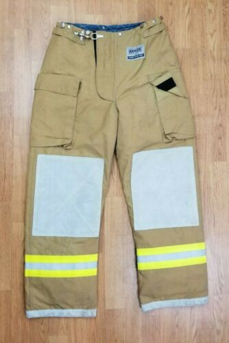 Morning Pride Ranger Firefighter Bunker Turnout Pants 34 x 31
