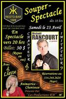 MICHAEL RANCOURT EN SPECTACLE