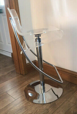John Lewis Ghost Chair Transparent Bar Stool Modern