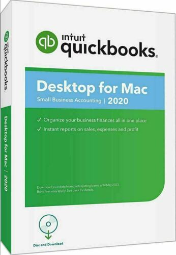 INTUIT QuickBooks Desktop for Mac 2020 (DOWNLOAD)