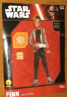 Star Wars Finn Halloween Costume Top & Pants Sz 8 10 Rubie's New Ages - Halloween Top 10 Costumes
