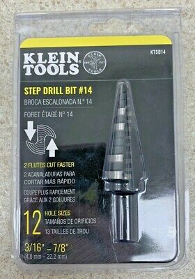 Klein Tools Ktsb14 New Step Drill Bit 14