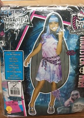 River Styxx Monster High Haunted Doll Dress Up Halloween Child Costume - Halloween Doll Dress Up