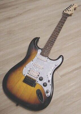 Fender  Stratocaster Guitar TurboCharged w/Blender MOD Sunburst Squier Strat HSS