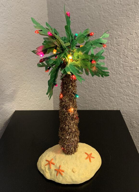 Gemmy Christmas Palm Tree Music Lights Sounds Works