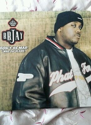 "B.B. Jay – Don't Be Mad (Who Da' Blame) 12""single"