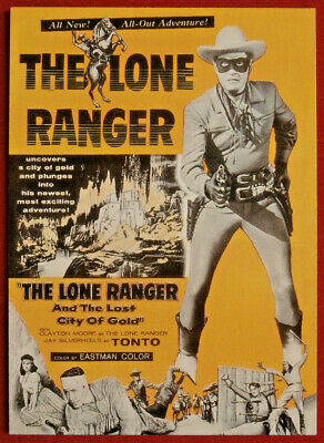 THE LONE RANGER - Card #48 - Dart 1997 - THE LOST CITY OF GOLD