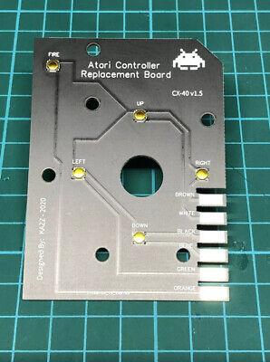 Atari 2600 Controller Drop In New & Improved Replacement Circuit Board, usado comprar usado  Enviando para Brazil