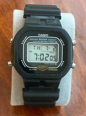 Vintage CASIO 901 DW5300 G-shock digital watch missing plastic cover-New Battery