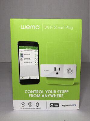 WEMO Mini Smart Plug Wi-Fi Works w/ Alexa Google Assistant Apple Homekit