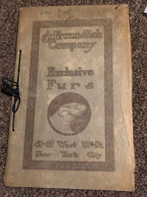Rare Antique Upscale NY Fashion Catalogs Circa 1800s-1920s Good Shape!