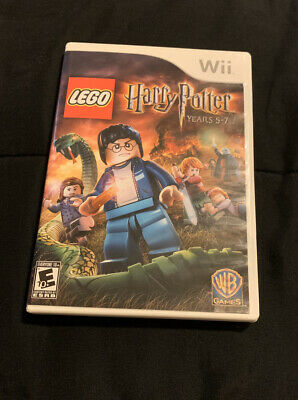 COMPLETE LEGO Harry Potter: Years 5-7 (Nintendo Wii, 2011)