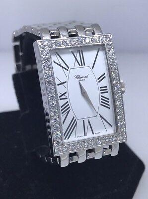 """CHOPARD LES CLASSIQUE 18K GOLD DIAMOND WOMEN""""S WATCH 14/3548 NEW $39,180 RETAIL!"""
