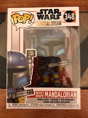 NEW! Funko Pop! #348 Star Wars : The Mandalorian - Heavy Infantry Mandalorian