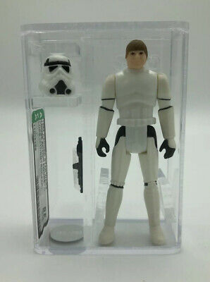 vintage star wars luke Skywalker 1984 (stormtrooper Outfit) Archival Afa 85+ Nm