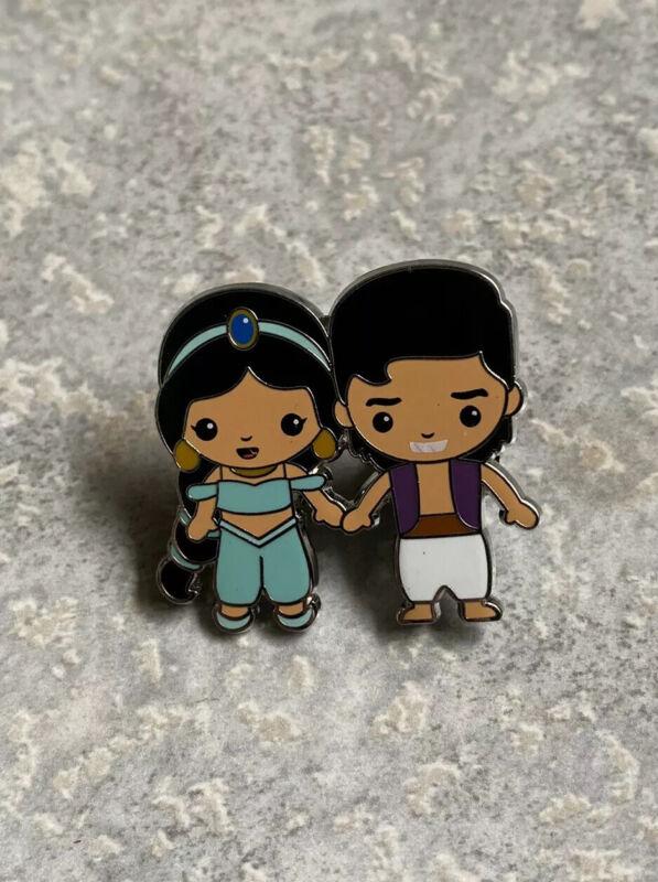Disney DLP DLRP Disneyland Paris Aladdin Princess Jasmine Pin Couples Series