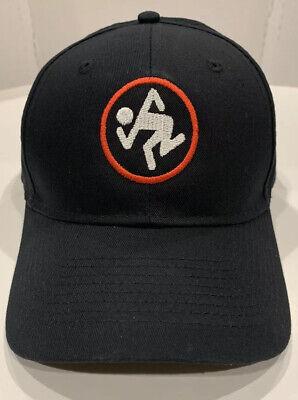 D.R.I. LOGO - Embroidered Black Baseball Cap / Hat - Punk Metal - Dirty Rotten