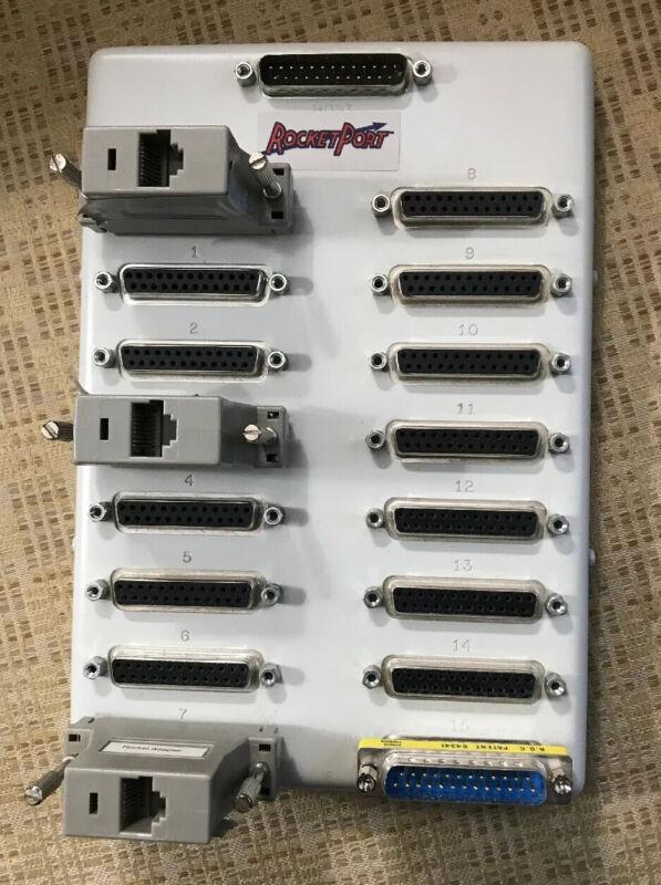 Comtrol Rocket Port 94100-2 16 Port RS232 Interface Module