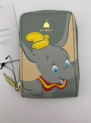 Loungefly Disney Dumbo Flying Elephant Cardholder ID Card Fan Wallet