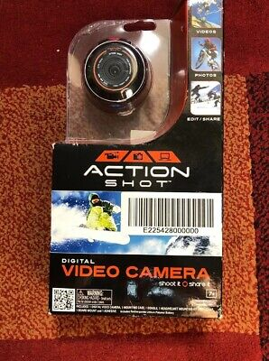 Jakks Pacific - Action Shot Digital Video Camera - 45821 - Used a Couple Times