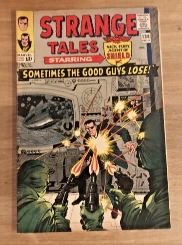 Strange Tales #138 1st Eternity 1965 Marvel Comics Nick Fury